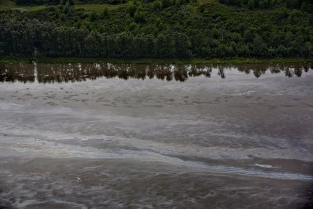 Drinking water priority in Saskatchewan after oil spill into river
