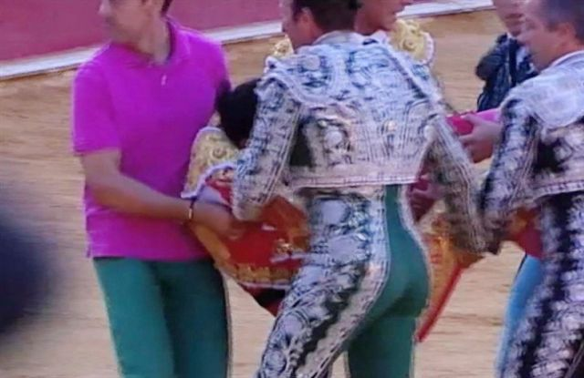 Hundreds attend funeral of gored bullfighter in Spain