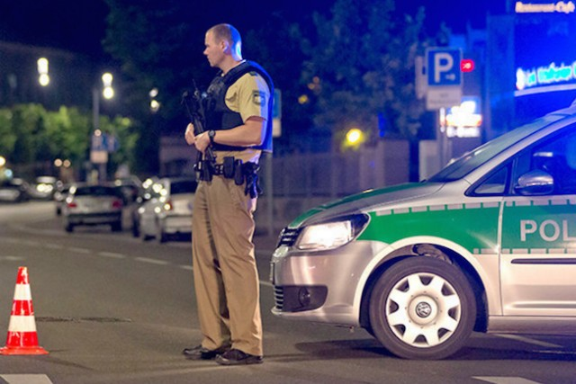 Man, likely attacker, dies in explosion in Germany