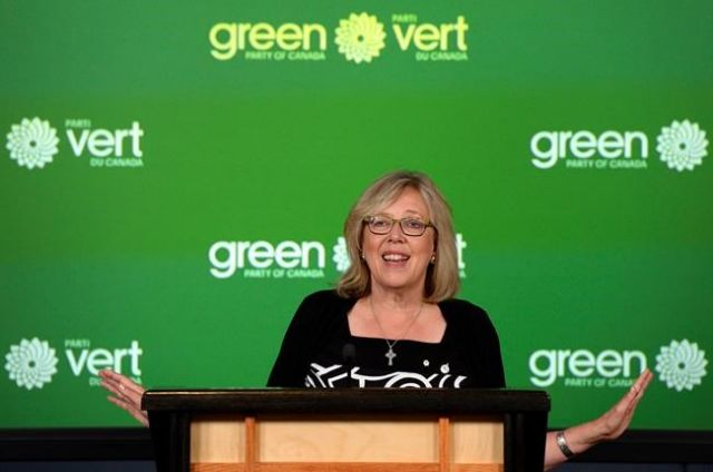May opts to remain as Green party leader