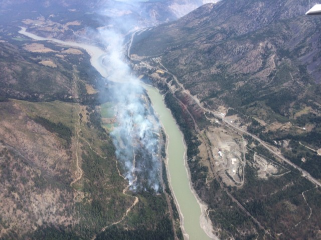 Lytton wildfire still growing in size