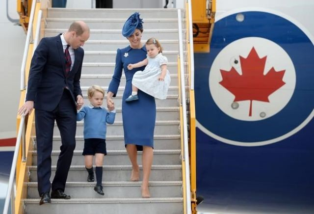 Duke and Duchess of Cambridge enjoy their Canada arrival