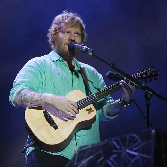 Ed Sheeran has secret pub at home