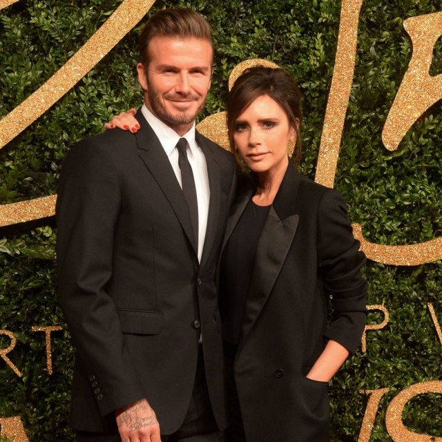 David and Victoria Beckham renew their wedding vows