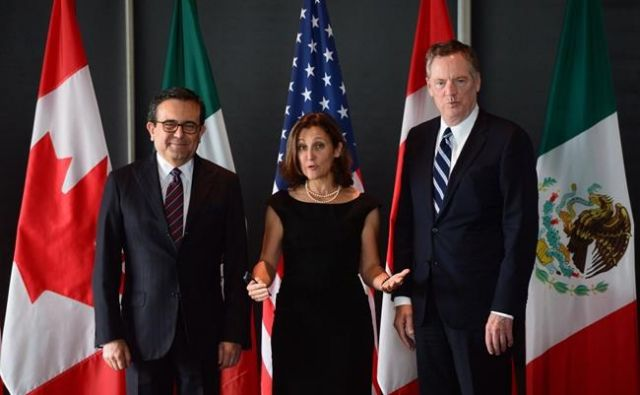 Mexico, US, Canada, begin NAFTA talks in Mexico City