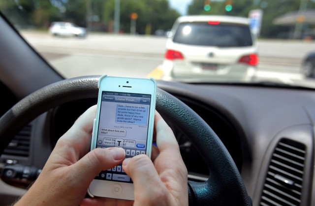 Province to designate distracted driving high-risk behaviour