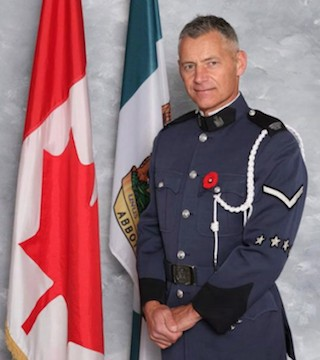 Thousands of police officers attended a celebration of life Sunday for slain Abbotsford Const. John Davidson.