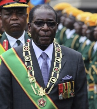 Zimbabwe's Robert Mugabe clings to power despite ouster from his own party.
