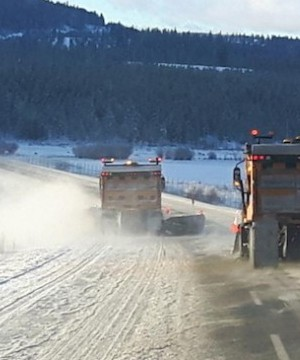 Environment Canada has issued a special weather statement for mountain highways in the Southern Interior.