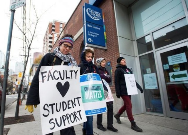 Canadore College welcomes students return after passage of Bill 178