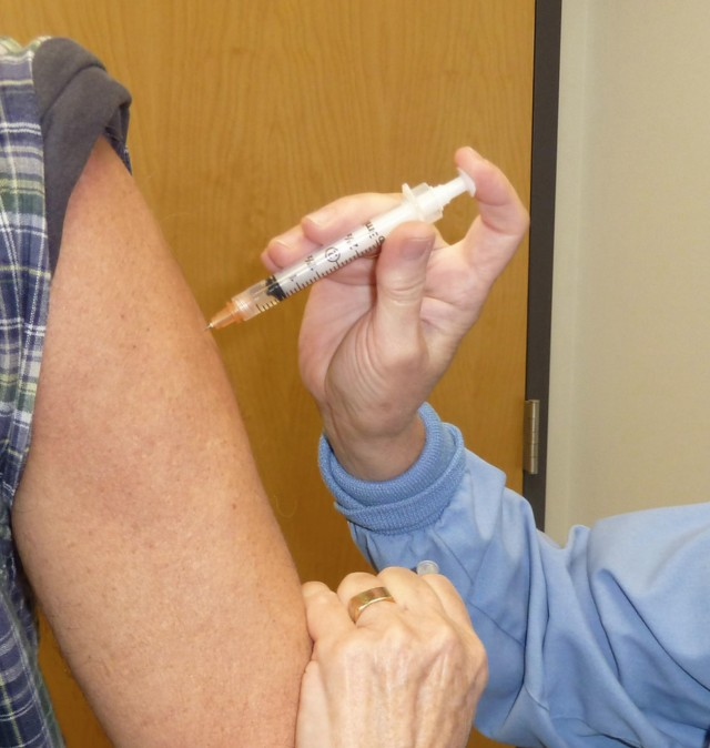 Flu Hospitalizations Up from a year ago