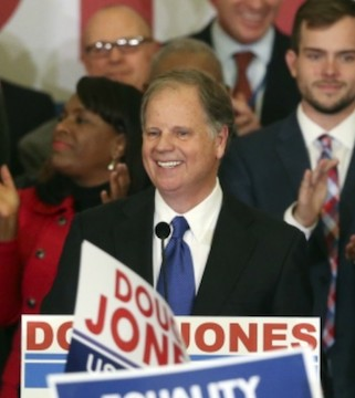 It took a near-miraculous confluence of factors for a pro-choice Democrat to win the state of Alabama � but it happened Tuesday.