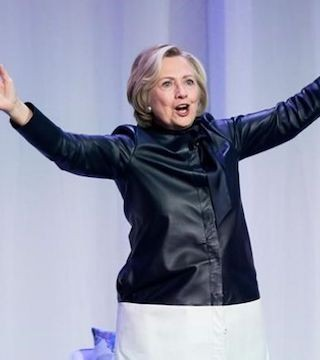Hillary Clinton was in Vancouver this week promoting her new book