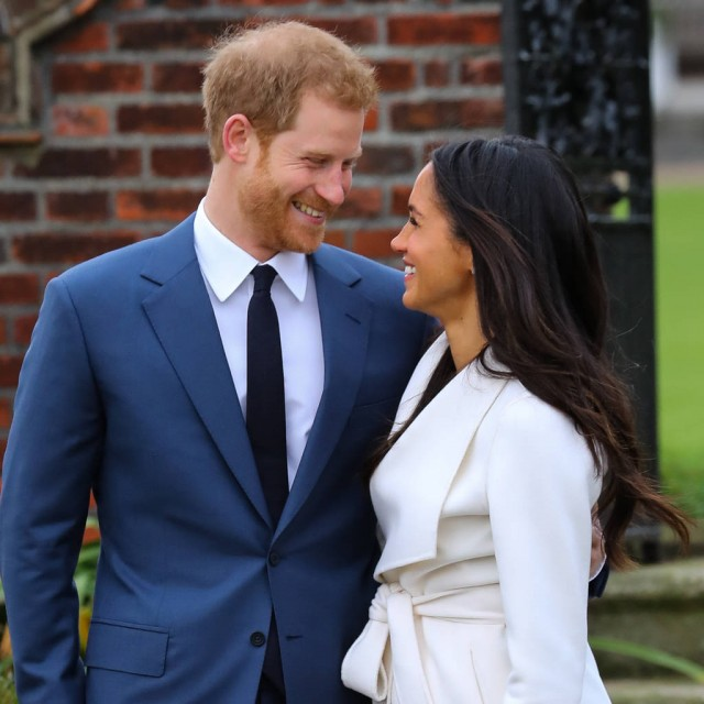 Prince Harry and Meghan Markle share engagement pictures