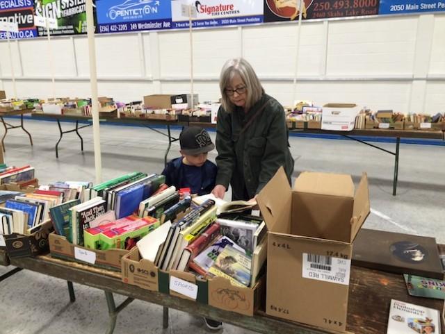 Rotary Book Sale Running Penticton News Castanet Net