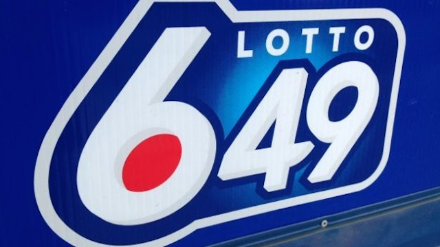 Winning Lotto 6/49 jackpot ticket sold in BC
