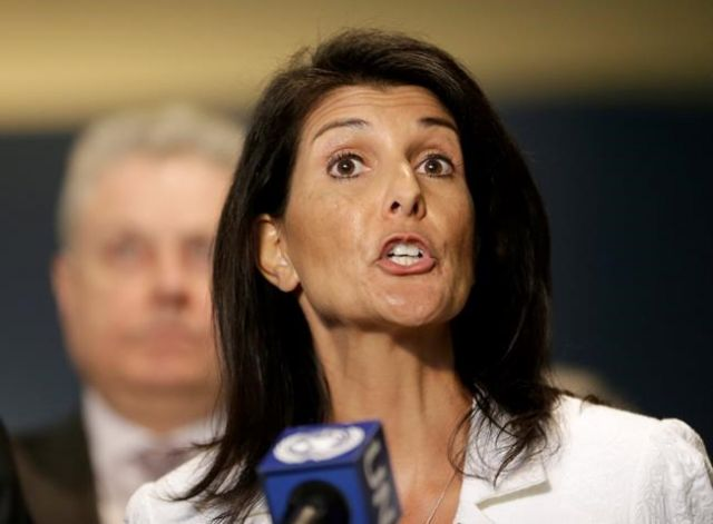 Nikki Haley: Trump is 'not stopping me from beating up on Russia'