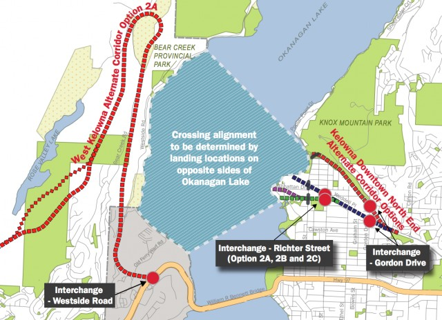 2nd bridge threat to park - West Kelowna News