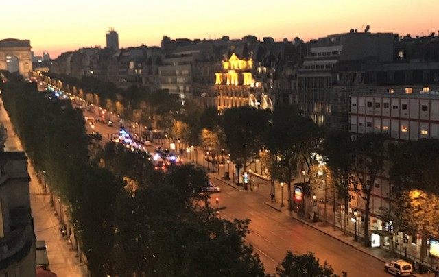 French police officer killed, Champs-Elysées in Paris closed, CNN affiliate says