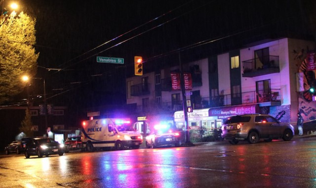 Man arrested following stabbing on Commercial Drive in Vancouver