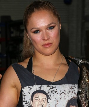 UFC fighter-turned-actress Ronda Rousey is engaged.