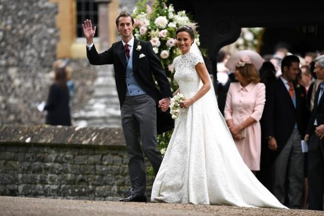 Pippa Middleton Recycled A Bridal Accessory She Wore To The Royal Wedding
