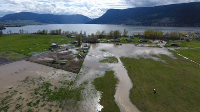 Work underway to protect vulnerable areas as Okanagan Lake continues to rise