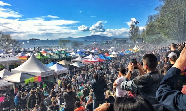 This year's 4/20 event cost the City of Vancouver over $245000