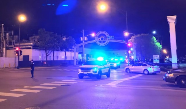 Chicago Police say 2 officers shot during an