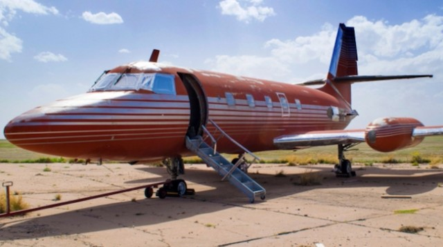 Elvis Presley's jet auctioned after sitting on runway 30 years