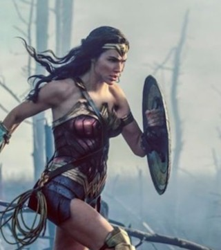 Wonder Woman lands in second place in weekend box office tally.