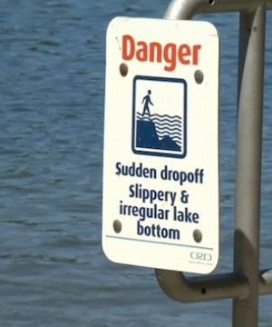 Paddleboarders saved a youth from drowning on Vancouver Island, Tuesday.