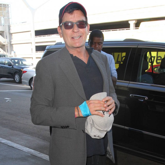 Charlie Sheen introduces new girlfriend Jools