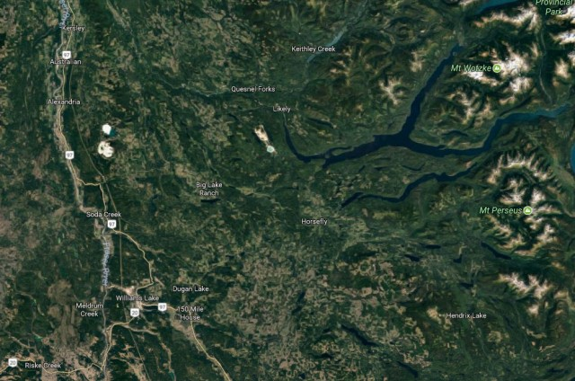 Williams Lake, BC, evacuated due to wildfires