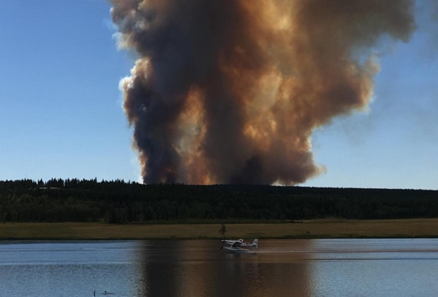 Evacuations ordered as Ashcroft wildfire grows