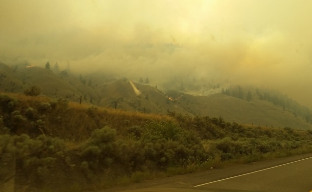 Wildfire near Princeton, BC, prompts evacuation order