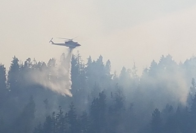 Manitoba Firefighters, Equipment Heading to Help Battle British Columbia Wildfires