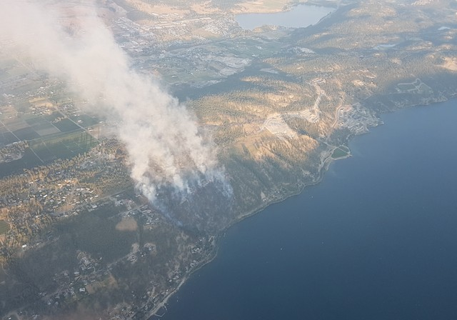 Eight homes destroyed in Lake Country fire