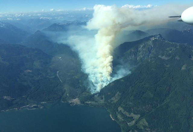 Fire breaks out at base of Whistler Blackcomb