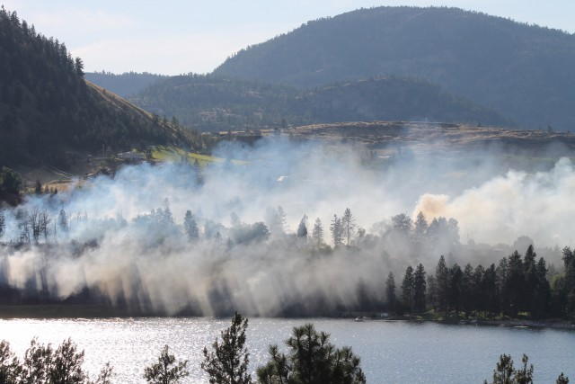 Firefighters make progress in holding back Kaleden wildfire in Okanagan Valley