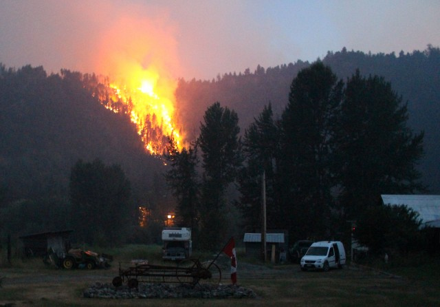Wildfires in BC Interior begin to exact economic toll
