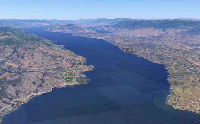 Man drowns in Okanagan Lake