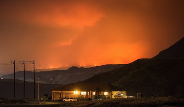 Strong winds cause for concern in and around wildfire-ravaged areas