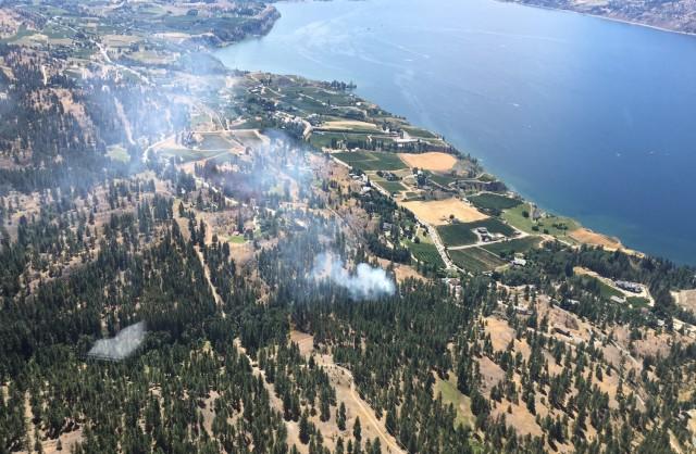 Wildfire evacuation order issued for Clinton, BC