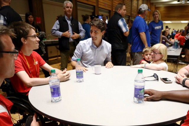 Trudeau visits Williams Lake today
