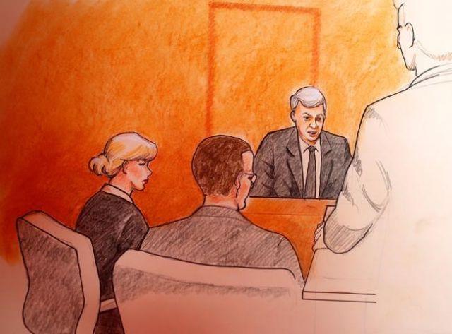 Swift in court over alleged groping
