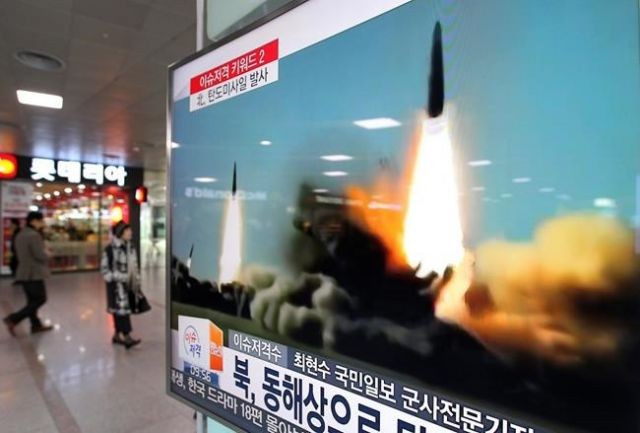 UK PM May outraged by North Korean missile test