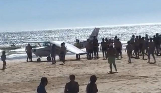 Plane Lands on Portugal Beach, Killing 2 Sunbathers