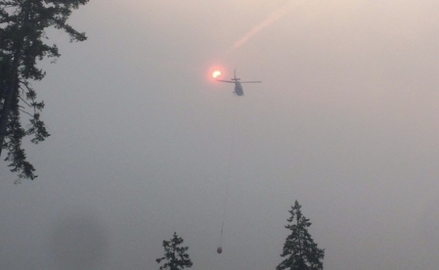Wildfires in BC Cariboo combine to create province's largest blaze