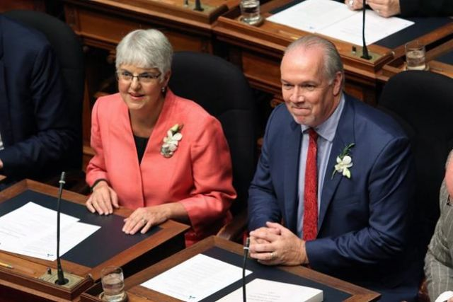Green factor explains disappearance of big-ticket promises in BC budget: James